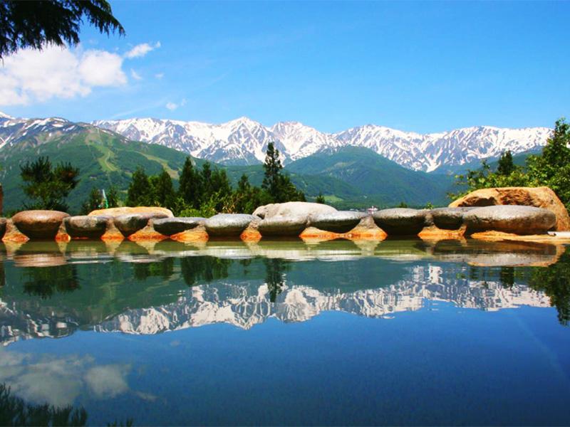 【白馬姫川温泉】北アルプスを眺める特等席。白馬随一の絶景温泉