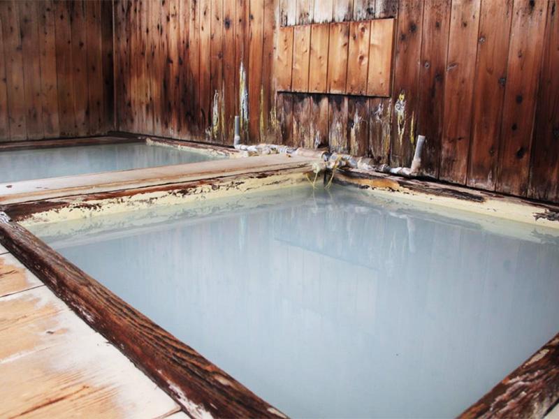 【奥塩原新湯温泉】塩原温泉郷では珍しい白濁の硫黄泉