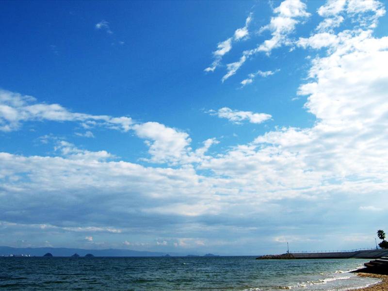 【湯の児温泉】不知火海の藍とリアス式海岸が美しい温泉街