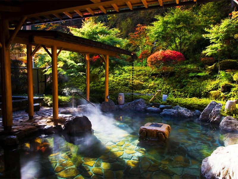 【早太郎温泉】中央アルプスに囲まれた自然豊かな温泉地