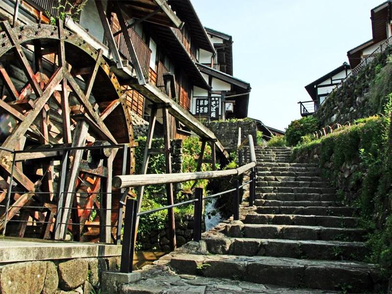 【中津川温泉】木曽路への玄関口となる恵那山麓の温泉地