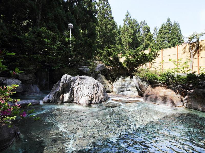 【一里野温泉】大自然の中で楽しむ源泉かけ流し天然温泉