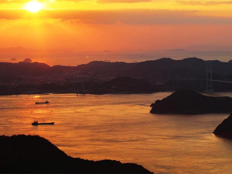 【湯ノ浦温泉】瀬戸内海を一望する四国初の国民保養温泉