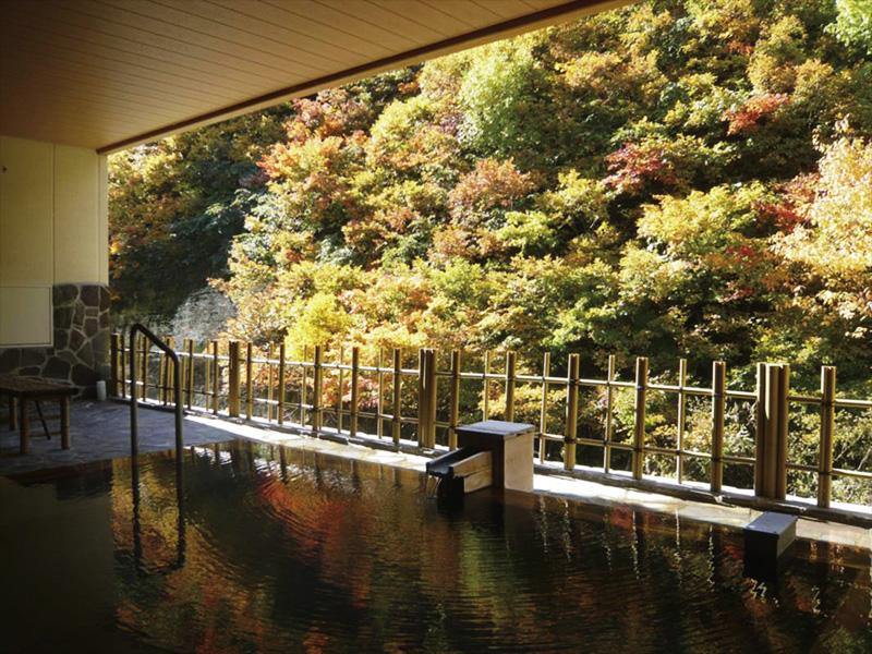 【湯川温泉】3つの温泉からなる自然湧出湯