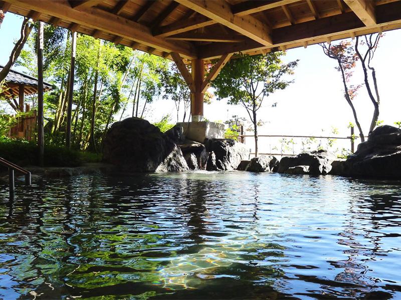 【ハツカ石温泉】石打丸山スキー場に隣接する温泉