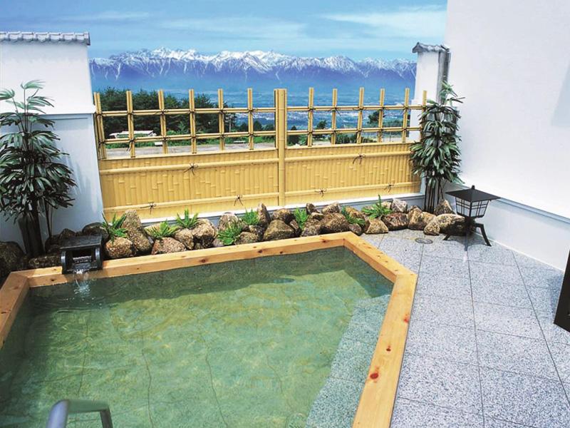 【天徳温泉】北アルプスの絶景を標高約1010mで楽しむ