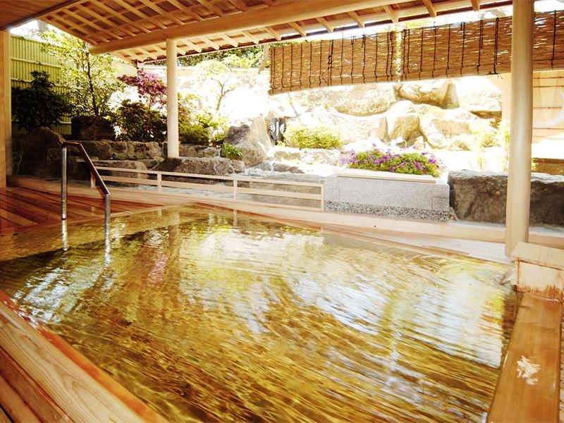 【たまの温泉】温暖な瀬戸内の浜辺に湧く天然泉