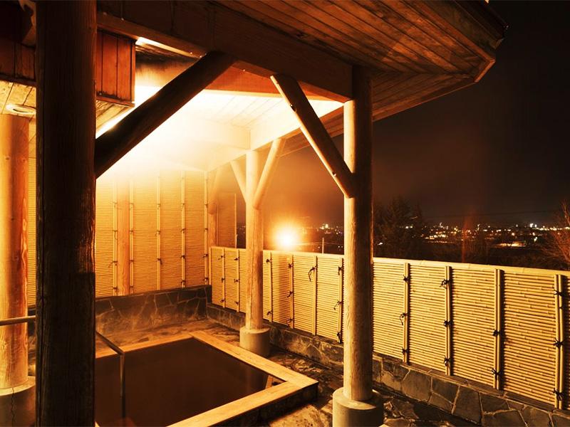 【幕別温泉】広大な十勝平野を見下ろせる高台に位置する温泉