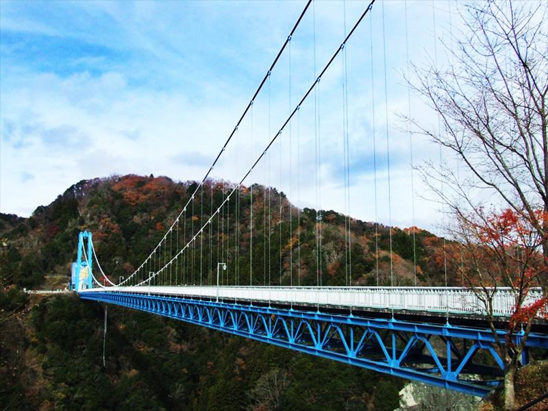 【横川温泉】清流のせせらぎが聞こえる渓谷に湧く古湯