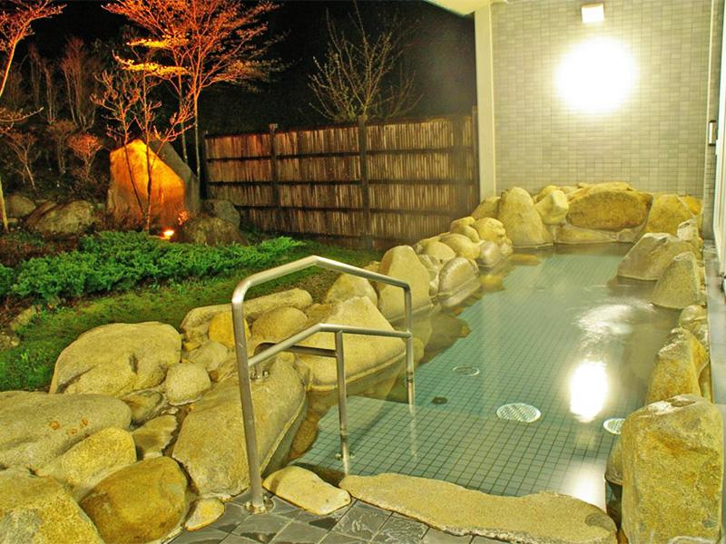 【波賀東山温泉】豊富なラドン含有量を誇る東山名水