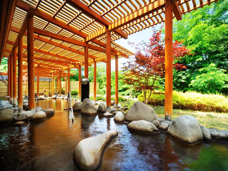 【十勝幕別温泉】大地の恵みとナウマン象、パークゴルフの温泉地