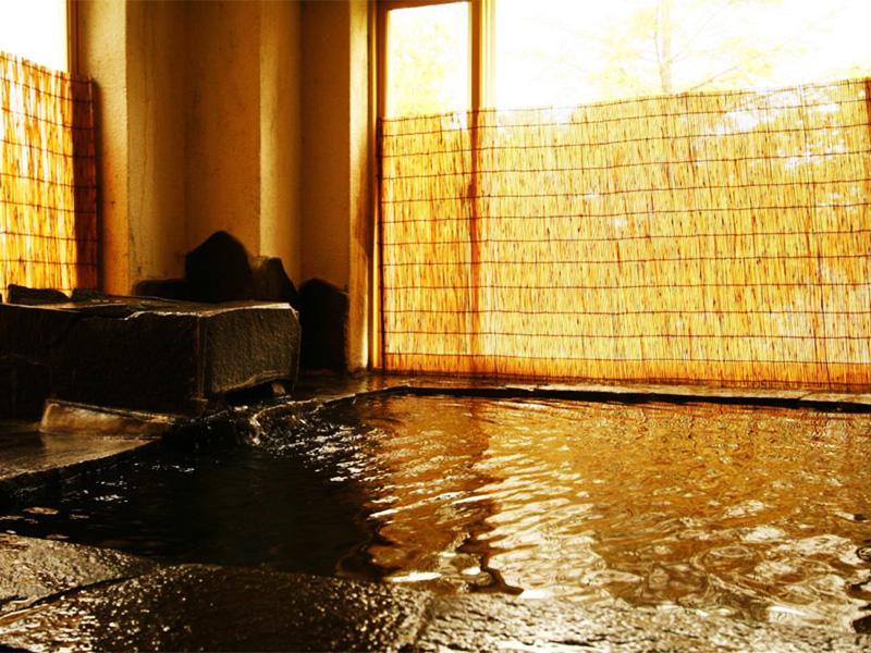 【姫木温泉】標高約1500mに湧く山荘の温泉