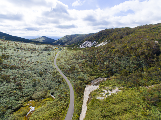 【五色温泉(北海道)】ニセコ連峰に挟まれた山間の秘湯