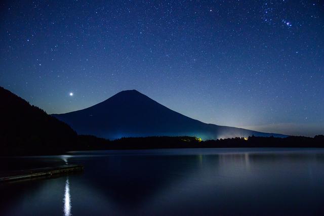 【富士 田貫湖温泉】温泉に逆さ富士!? 富士山麓の新しい温泉地