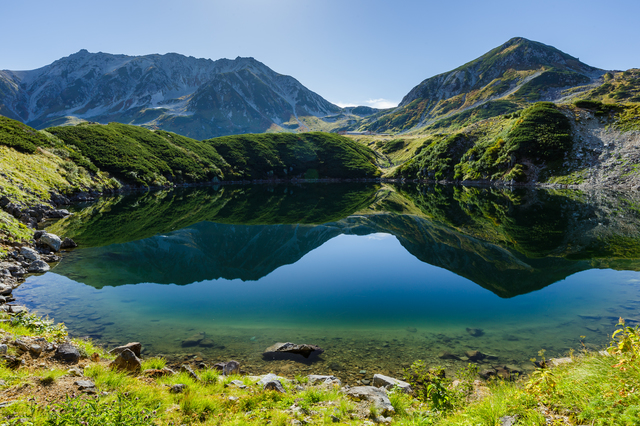 【みくりが池温泉】標高2410メートル、日本一高所の温泉地