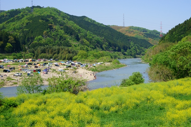 【笠置温泉】風光明媚な環境に囲まれた、美しい自然の湯