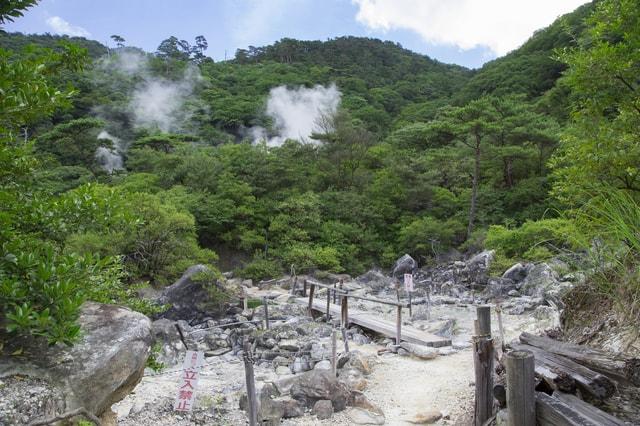 【栗野岳温泉】西郷隆盛が湯治に訪れた「地獄」の湯