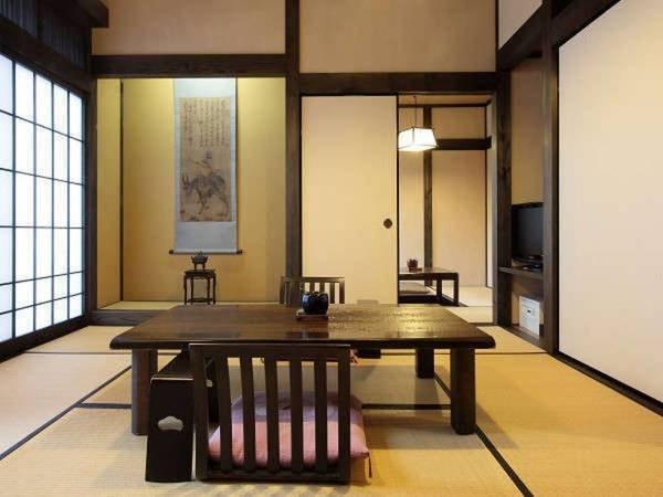【和楽亭】源泉かけ流しの内湯&露天付客室/一例
