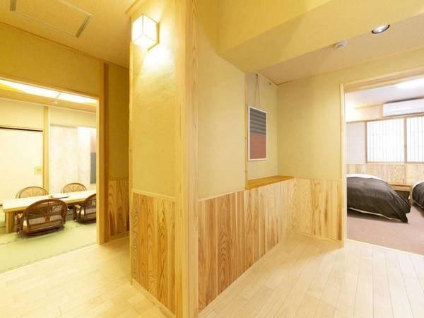 バリアフリー和洋室 (ベッド2台)/一例