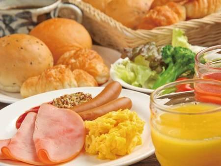 朝食手作りバイキング一例