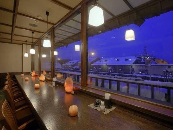 2階御食事処「雪灯り」