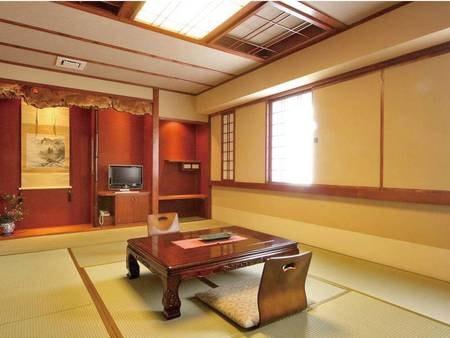 市街側檜内風呂付12畳和室/一例