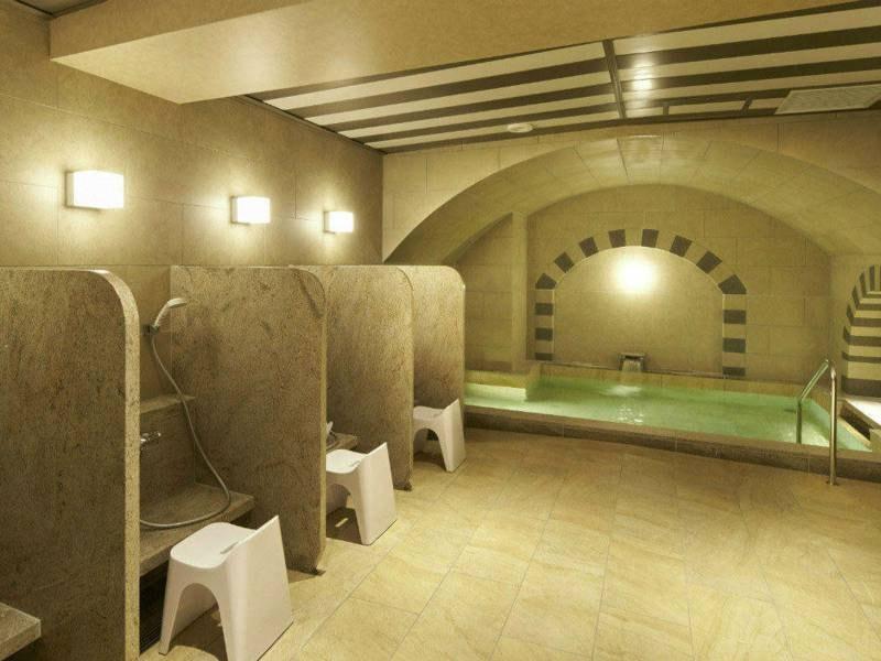 【大浴場】大浴場は男女別に有。営業時間は14:00~24:00/6:00~10:00 女性は専用エレベーターがあるので、安心してご利用いただけます