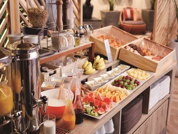 【朝食/例】コロナウイルスの影響により朝食の提供を一時中止しております。