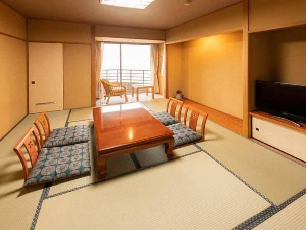 《禁煙》最上階和室【バス付客室】姫川側/一例
