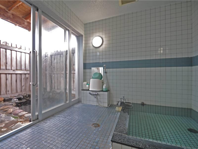 【貸切家族風呂】露天風呂付 一室につき500円でご利用いただけます。