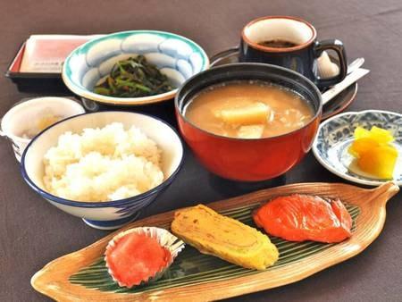 【朝食/例】体に優しい和定食をご用意致します。