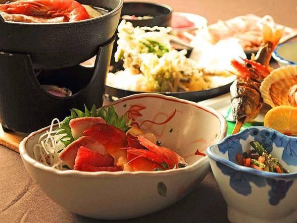 【夕食/例】豊かな味わいと香りを存分にご堪能ください。(竹イメージ)