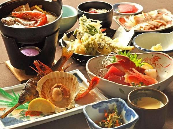 【夕食/例】(松)旬の豊かな味わいと香りを存分にご堪能ください。