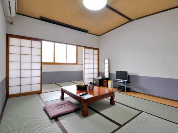 【和室10畳】リニューアル済で清潔感のある明るいお部屋/例