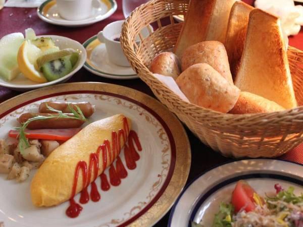 【ご朝食一例】良い香りで目覚める朝♪洋食メニューをご用意いたします
