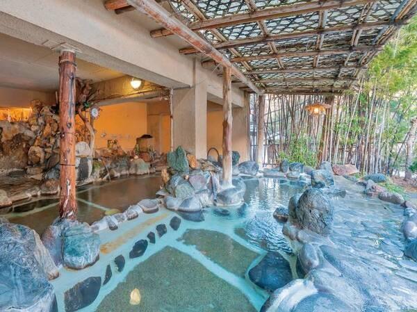 混浴露天風呂 「赤城の湯」