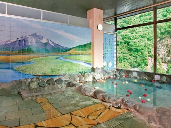 大浴場 「しぶつの湯」・露天風呂 「水鏡」/しぶつ