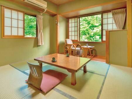眺望の良い和室6畳(トイレ・洗面台付)/一例