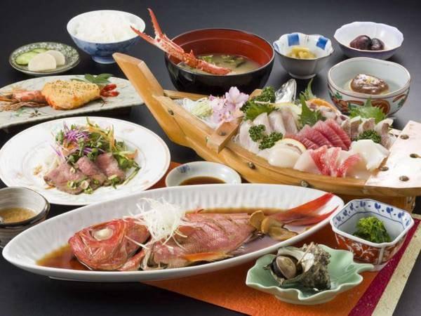 少し贅沢な創作伊豆料理プラン/一例