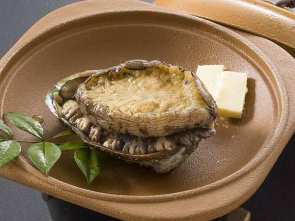 鮑の踊り焼+金目鯛の姿煮付伊豆料理プラン/一例