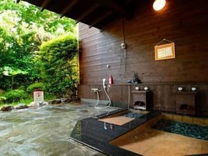 ワンコ専用露天風呂