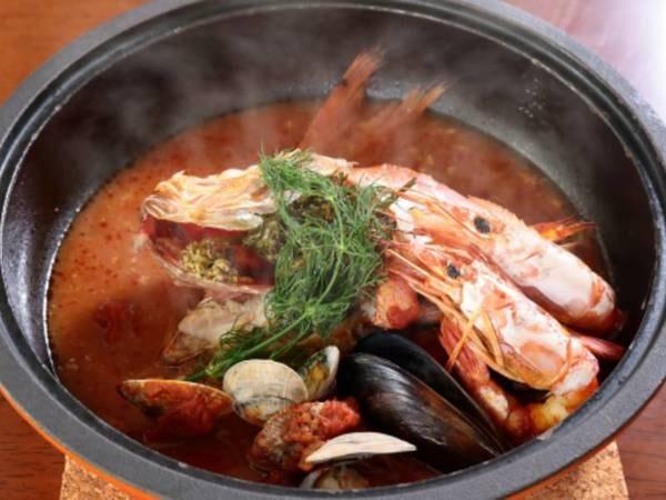 金目鯛の鉄鍋焼き/一例