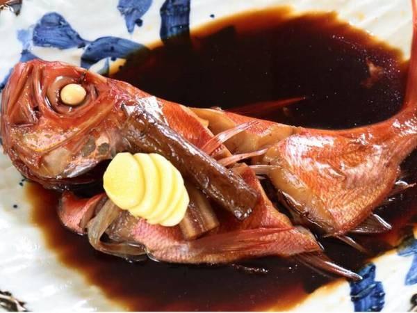 金目鯛の煮付け/一例