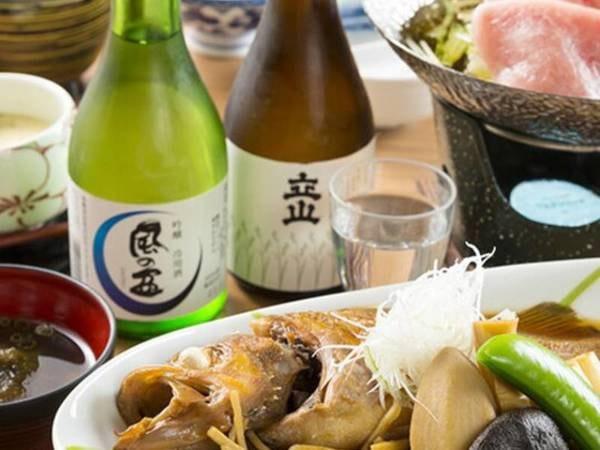 煮魚定食プラン/一例