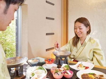 海浬ならではの『半個室』といったプライベート感あふれるお食事時間をお楽しみ下さい
