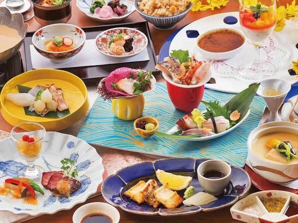 美味しいものを少しずつ愉しめる少量美食会席/一例