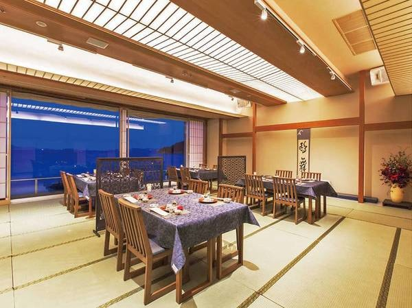 【和ダイニング】瀬戸内海を近く感じるお食事場所でごゆっくりと美食をお楽しみ下さいませ