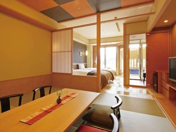 別邸「峰の界」露天風呂付和洋室/一例