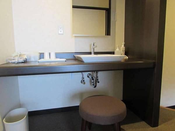 和室ベッドタイプ(禁煙)お部屋の洗面台/一例