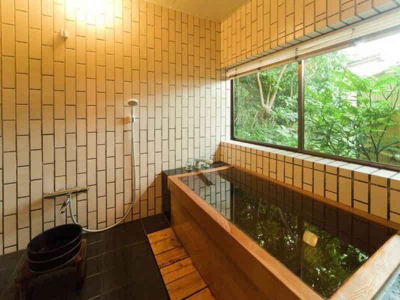 貸切露天風呂 檜の湯